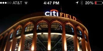 Citi Field has beacons deployed.