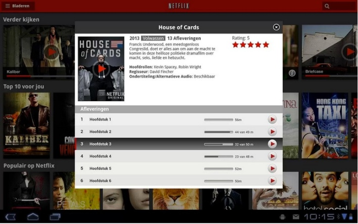 netflix nl google play