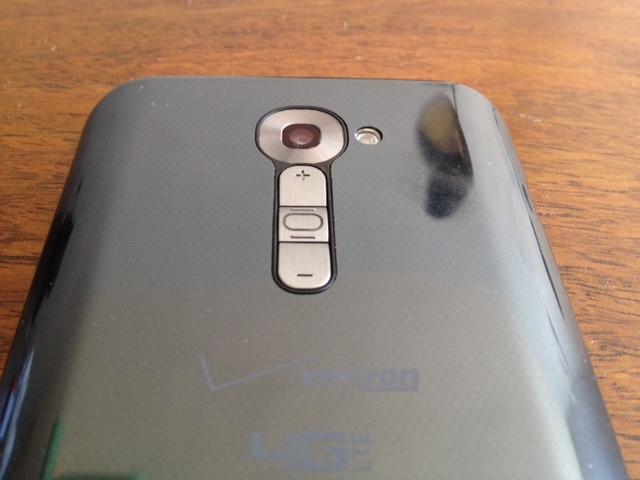 LG G2 rear buttons