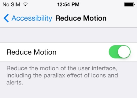 disable ios 7 parallax