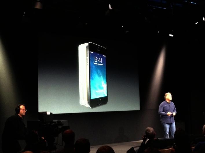 iPhone 5 event Phil Schiller