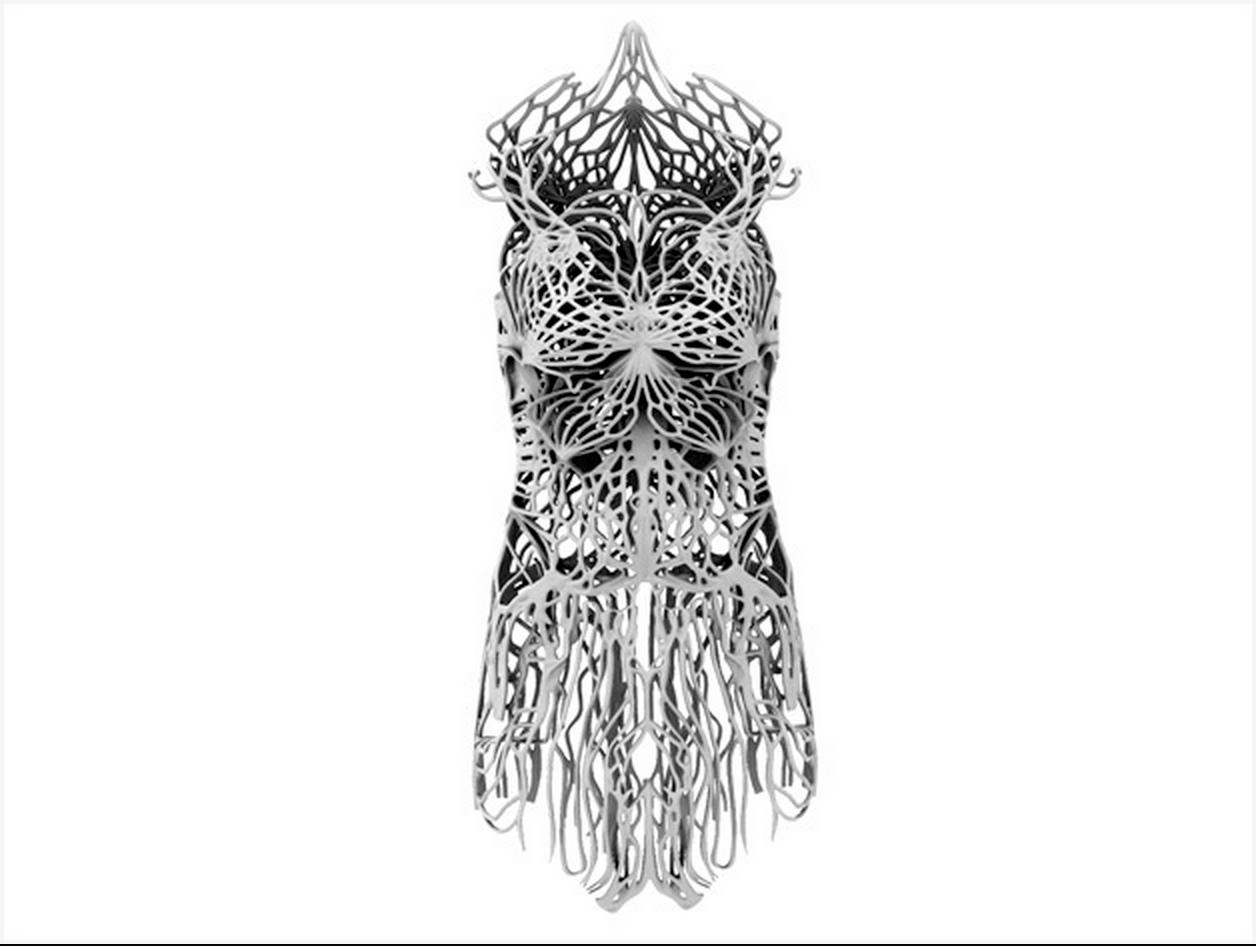 Francis Bitonti 3D printed dress