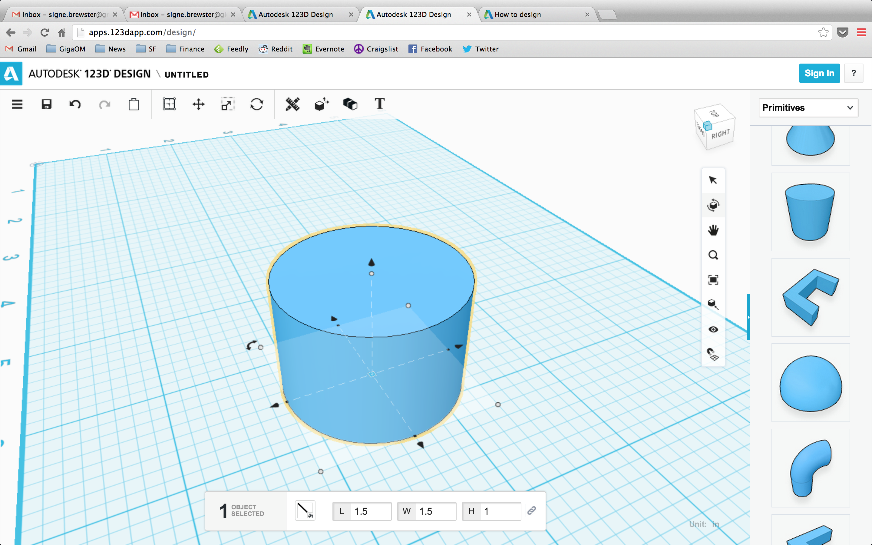 Making A Maker Designing Replacement Part With Autodesk 123D And