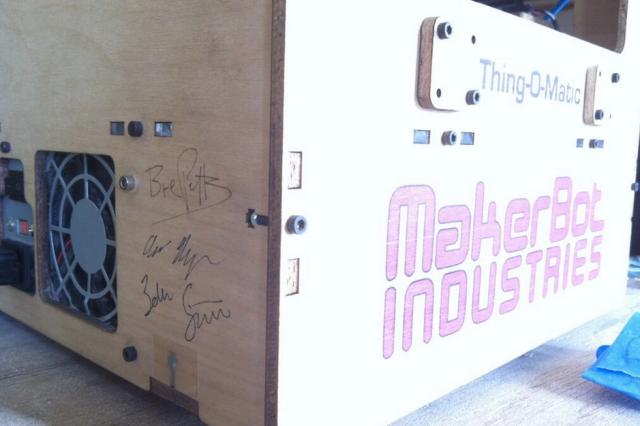 Noisebridge Thing-O-Matic signatures