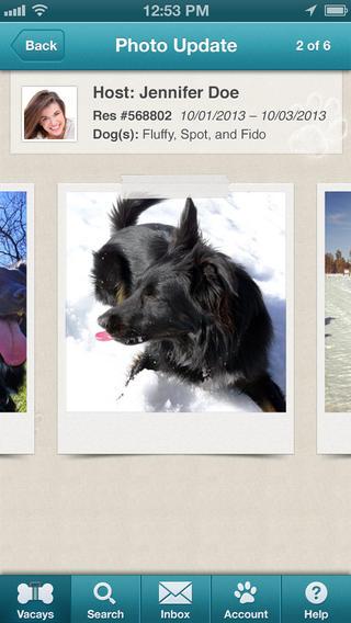 DogVacay screenshot iPhone
