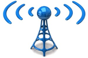 Cell site airwaves
