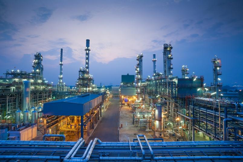 Hey industry - Oil refinery