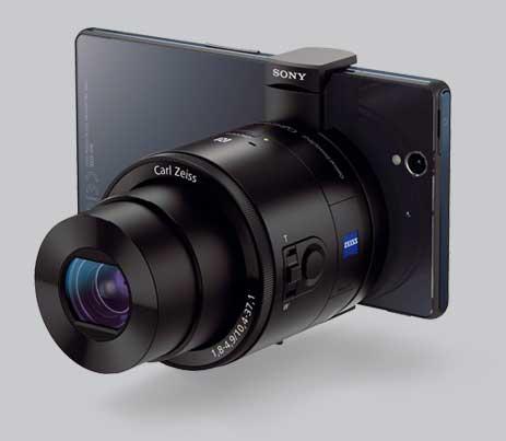 sony qx100 lens