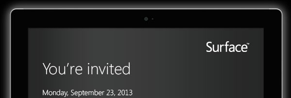 Surface invite