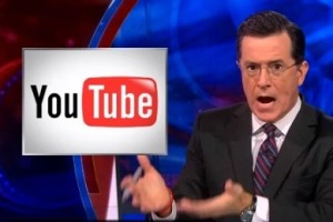 youtube colbert feature