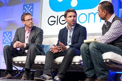 (L to R) Marc Lefar, CEO, Vonage; Andreas Bernstrom, CEO, Rebtel (c) 2013 Pinar Ozger pinar@pinarozger.com