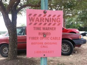 fiber optic cable, time warner