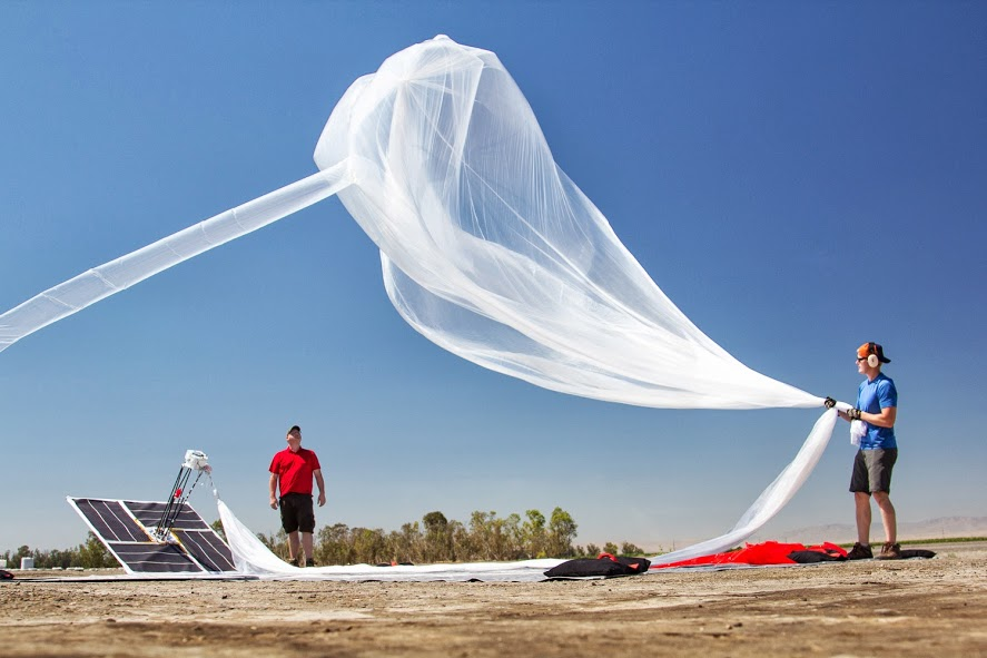 A Project Loon test flight (source: Google)