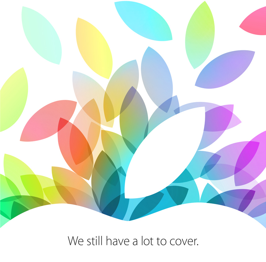 Apple October 2013 invitation