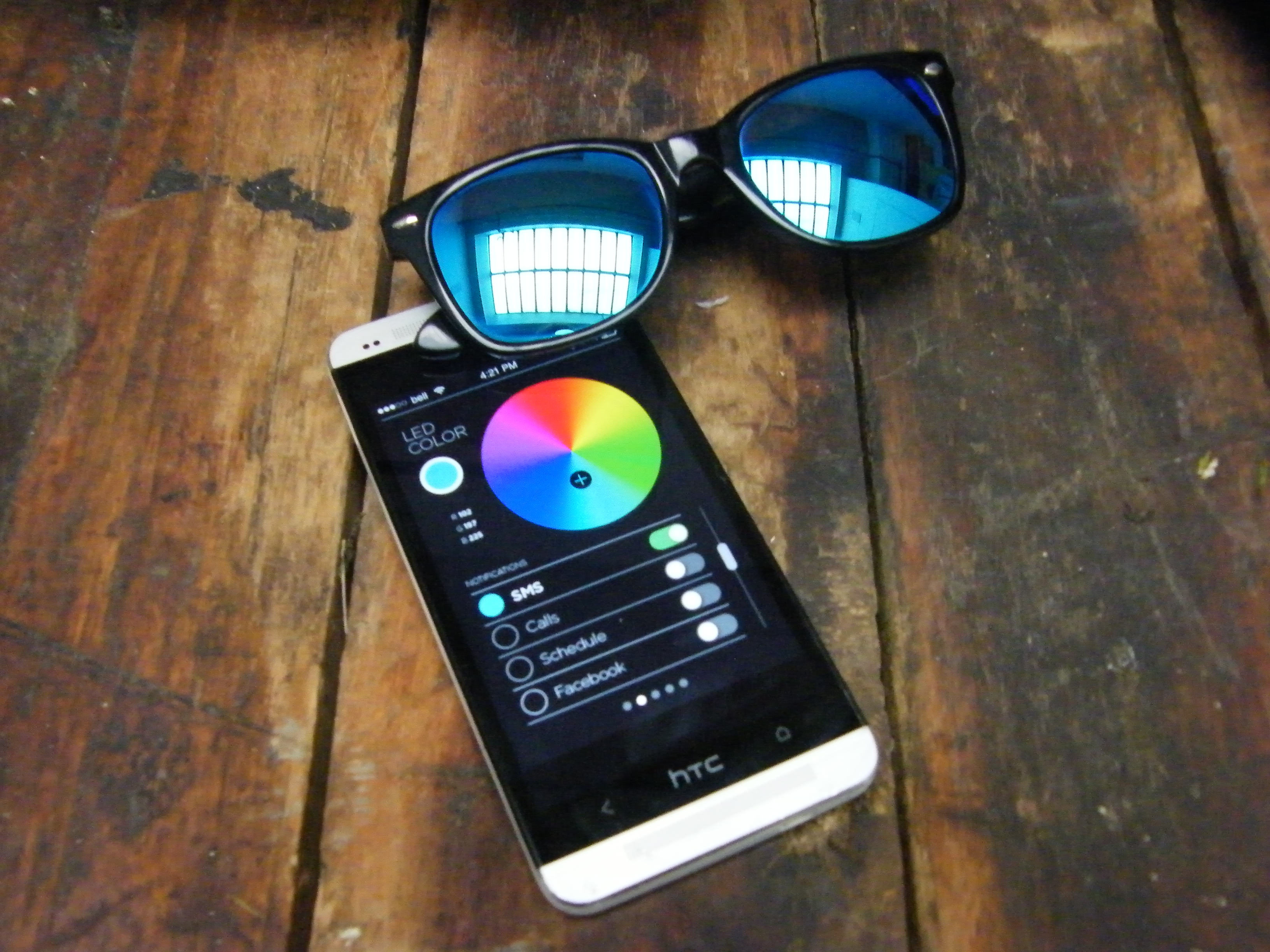 Ion Glasses and app