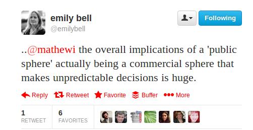 Emily Bell tweet