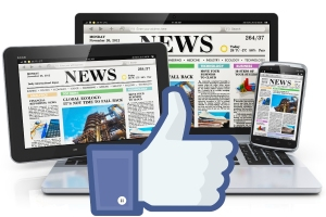 Facebook says news publisher traffic has increased more than 170 percent