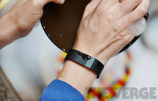 Fitbit Force water resistant