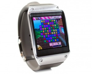 Galaxy Gear Candy Crush