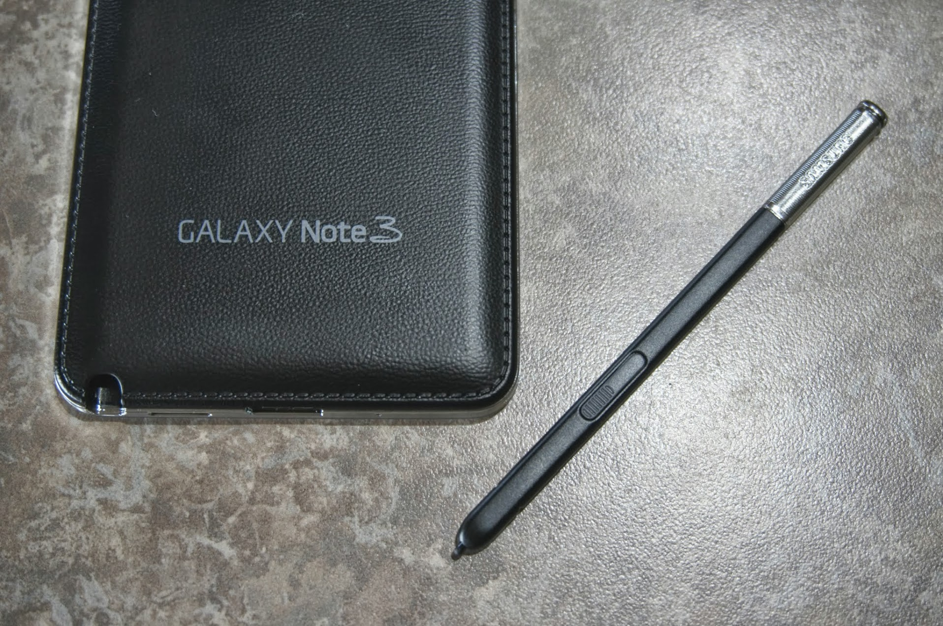 Galaxy Note 3 and pen