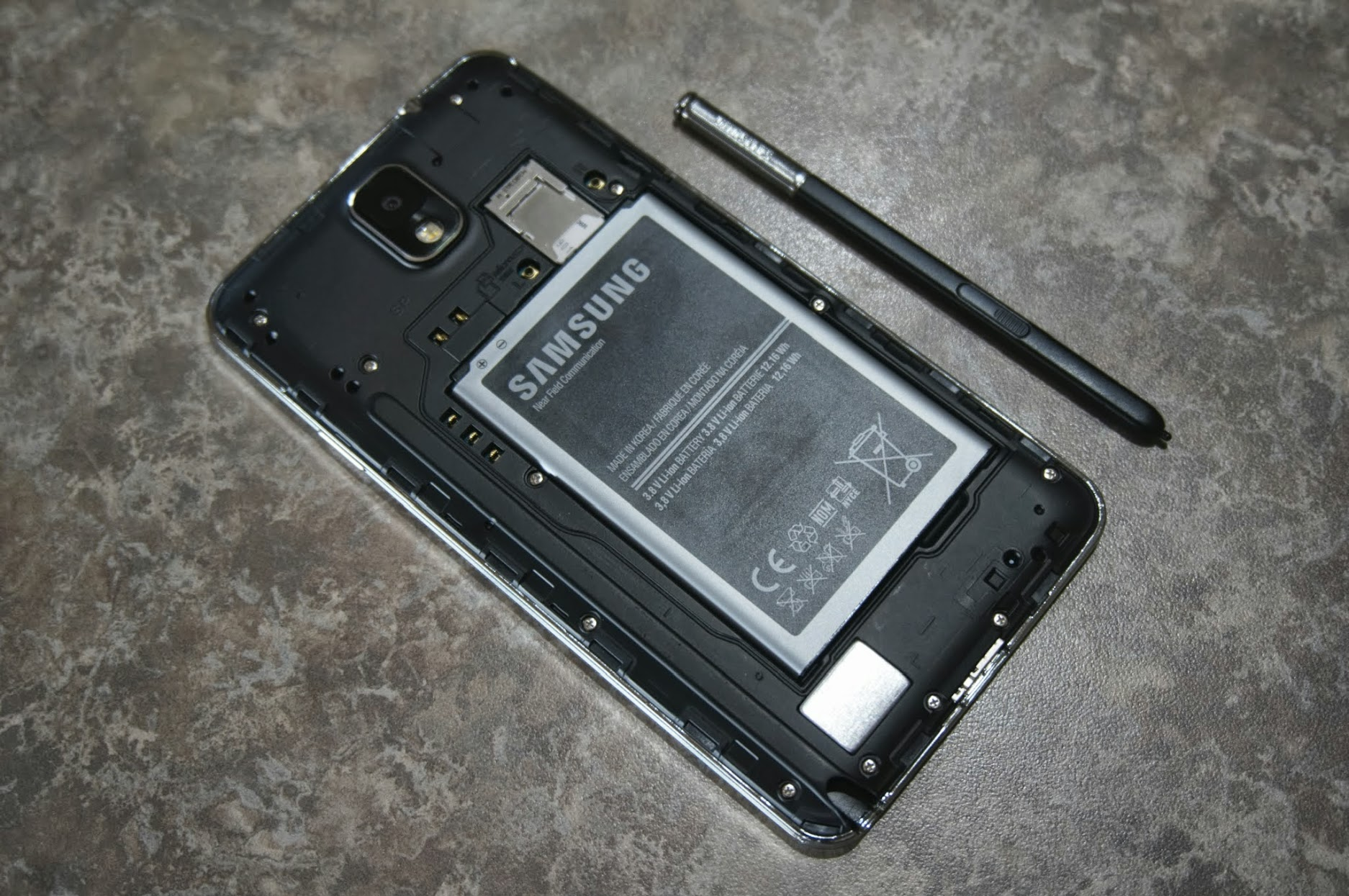 Galaxy Note 3 back