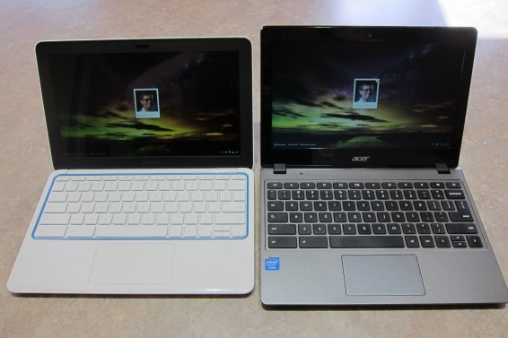 HP 11 and Acer C720