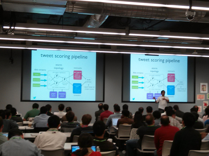 Twitter engineers webscale big data event hosted by Facebook.