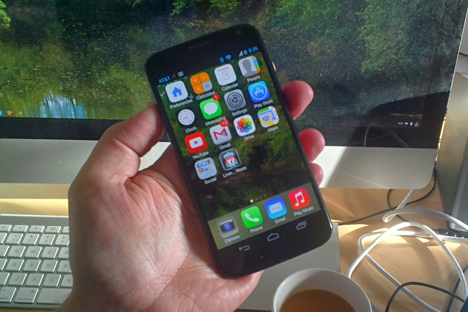 iOS 7 on Android