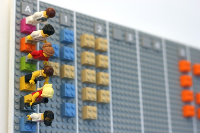 How to manage a Google Calendar with LEGOs and a smartphone