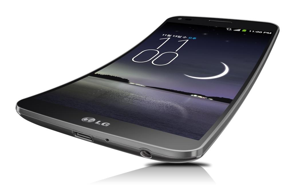 LG G Flex curved