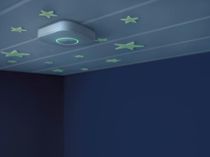 night-time room