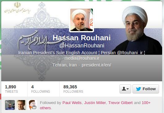 Rouhani Twitter