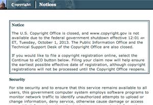 screenshot of shut CR office
