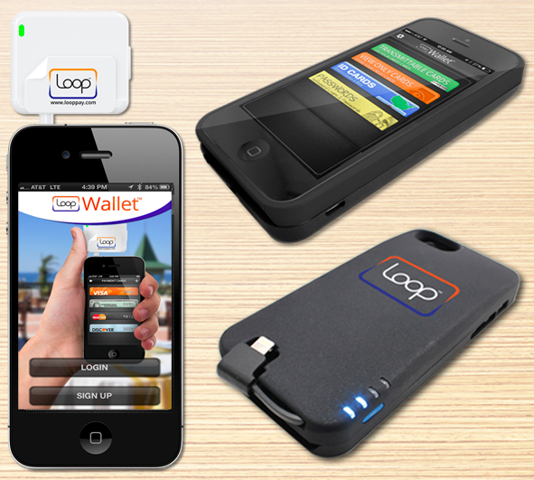 Loop mobile payments hardwar