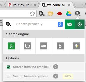 Disconnect search screensht