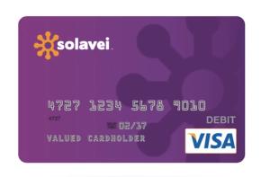 Solavei cartão Visa