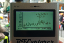 Spectrum analyzer Verizon LTE AWS
