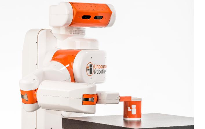 Unbounded Robotics' UBR-1 robot. Photo courtesy of Unbounded Robotics.