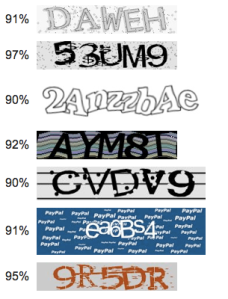 Vicarious CAPTCHA software