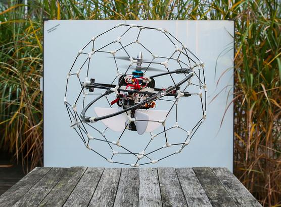 Gimball drone