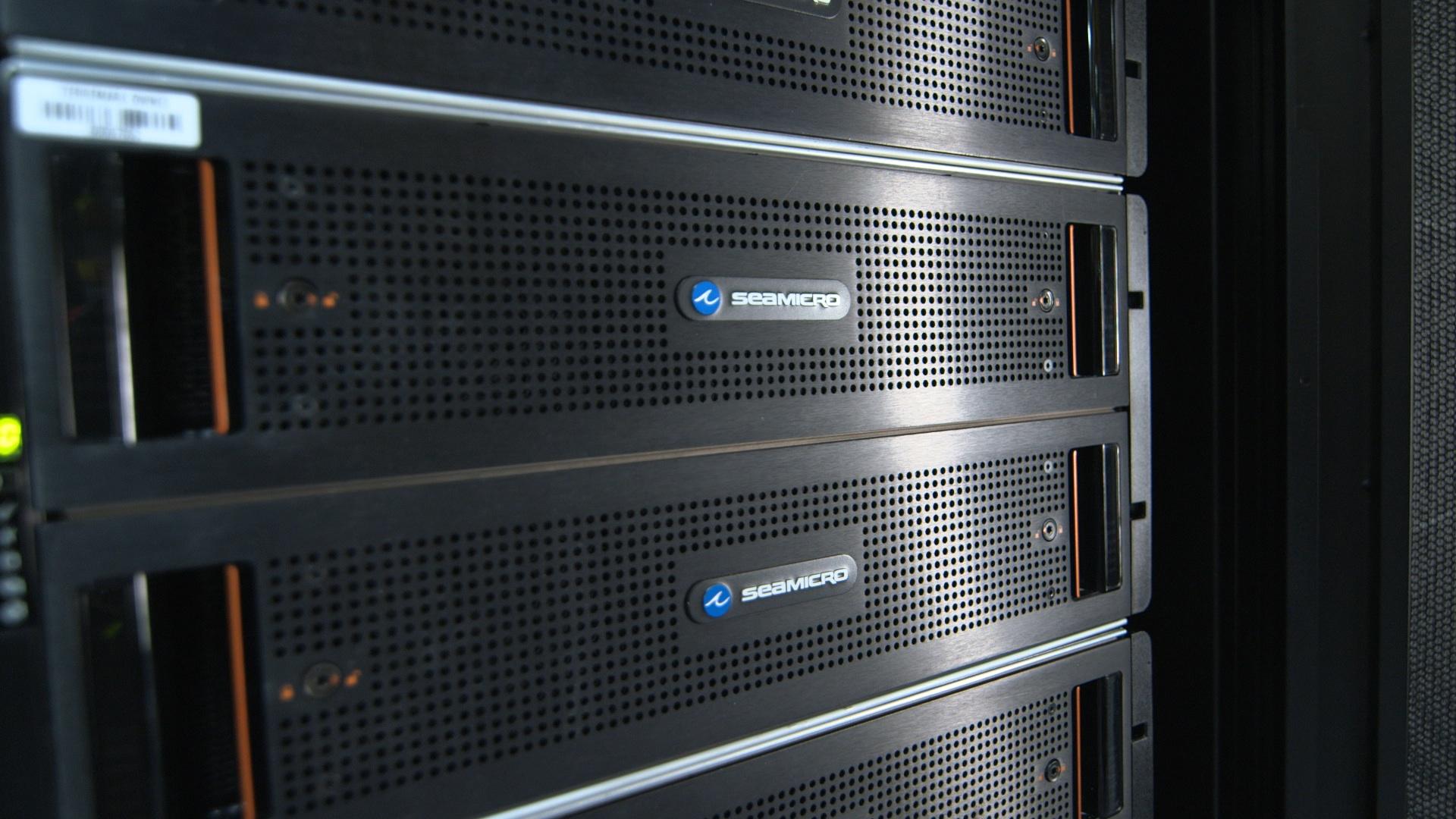 SeaMIcro servers