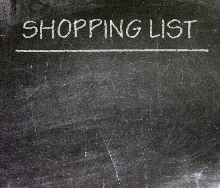 The TV in your kitchen could double as your shopping list.