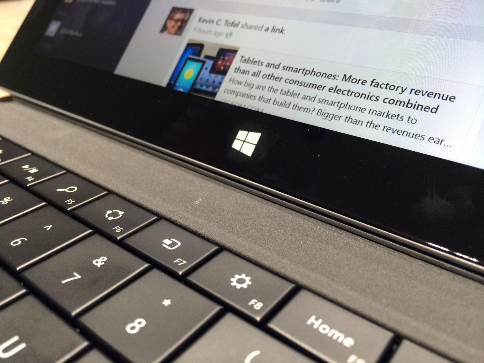 Surface 2 Windows