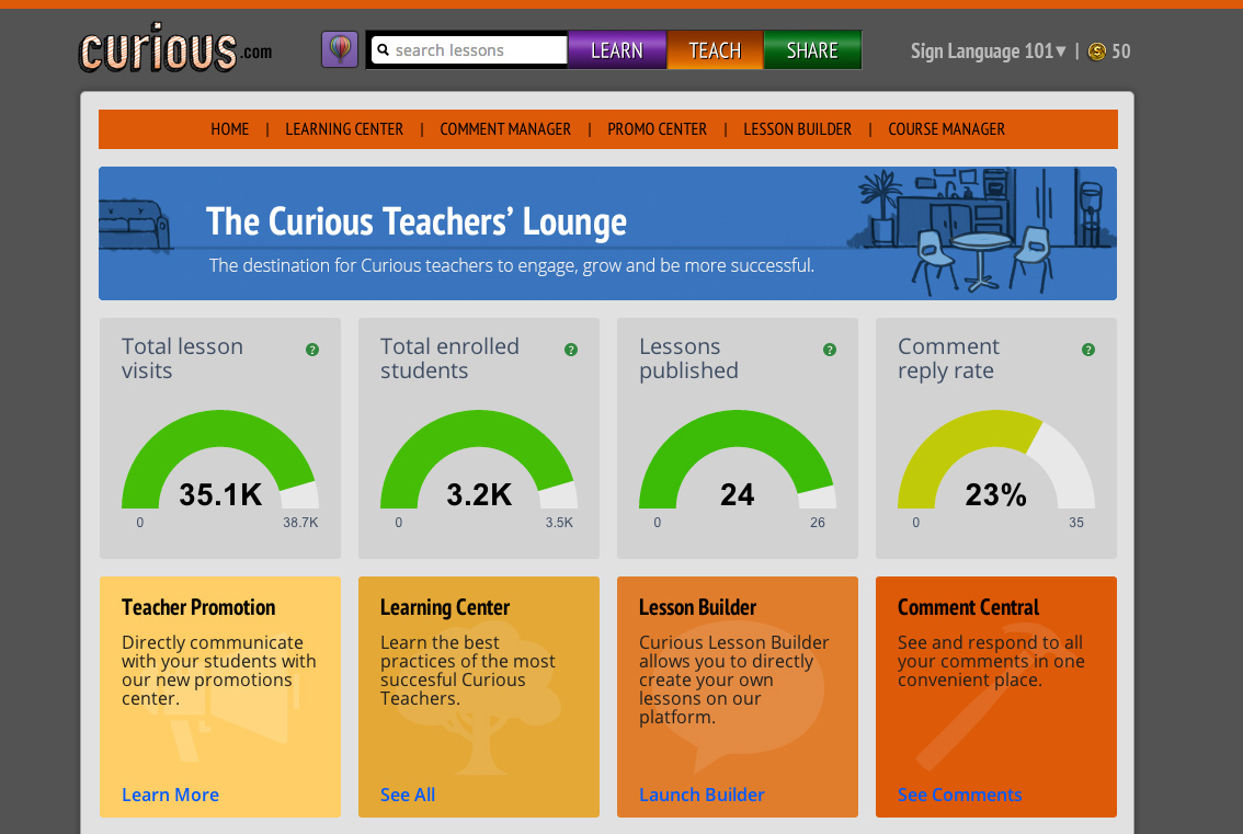 Teacher Lounge_Sign Language 101