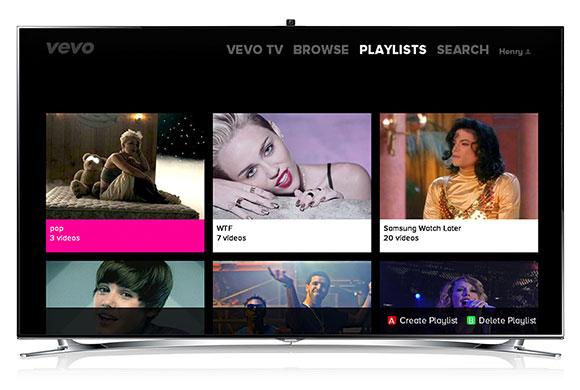 vevo samsung smart tv