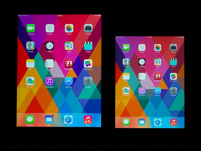 Anandtech iPad mini display comparison