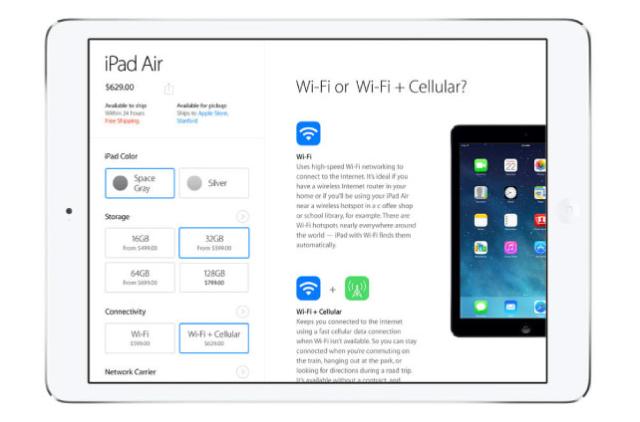 Apple Store iPad app