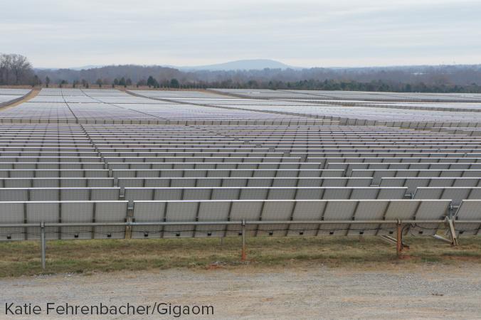 Apple's solar power farm stretches for TK acres