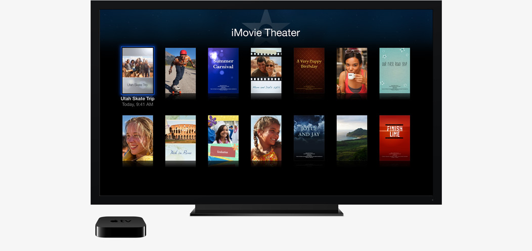 AppleTV iMovie Theater
