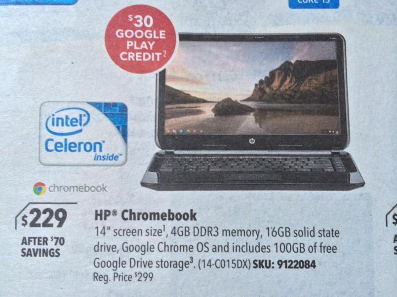 Best Buy Chromebook 14